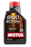 Universal Motul 8100 Eco-lite 100% Synthetic Engine Oil 5W30 - Size Option