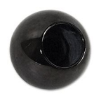 C3 Corvette 1968-1982 Black Manual Shift Knob