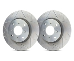 C2 C3 Corvette 1963-1982 SP Performance Peak Series Rotors With Silver Zinc Plating - Multiple Options