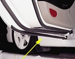 C5 C6 Corvette 1997-2013 Lower Door Seals