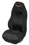 Corvette C5 Neoprene Seat Covers With Logo - 6 Color Combos