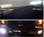 C6 Corvette 2005-2013 HID Fog Light Conversion Kit