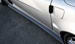C6 Corvette Z06 / Grand Sport 2006-2013 APR Carbon Fiber Side Skirts