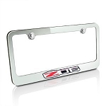 C6 Corvette Z06 2006-2013 Chrome License Plate Frame