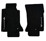 C5 Corvette 1997-2004 Lloyds Ultimat Vertical Logo Floor Mats