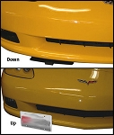 C5 C6 Corvette Base / Z06 / ZR1 / Grand Sport 1997-2013 Show N Go Manual Retractable Front License Plate
