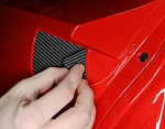 C7 Corvette Stingray/Z06/Grand Sport 2014+ Door Scratch Guards - Finish Options
