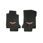 C6 Corvette 2005-2013 Lloyd Ultimat Logo Only Front Floor Mats