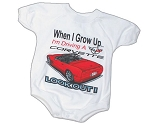 C5 Corvette 1997-2004 When I Grow Up Baby Romper