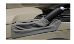 C6 Corvette 2005-2013 Leather Console Cushion, Shift Boot & Brake Boot Set - Steel Gray
