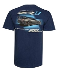 C7 Corvette 2014-2019 ZR1 Life Begins at 200 MPH T-shirt - Medium