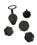 C5 Corvette 1997-2004 Hydro Carbon Fiber Engine Cap Set
