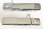 C4 C5 Corvette 1984-1998 Chrome Door Handles - Pair