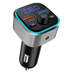 Bluetooth FM Transmitter Stereo Radio Car Kit w/ Dual USB Interface for Samsung & iPhone