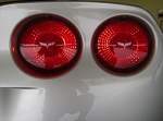 C6 Corvette 2005-2013 Taillight Lens Decals - Vinyl Color Options