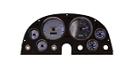 C2 Corvette 1963-1967 3D Analog Direct Fit Replacement Gauge Panel w/ Stainless Steel Faceplate - LED Color Options