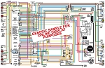 C2 C3 Corvette 1963-1981 Color Wiring Diagram
