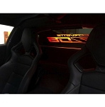 C7 Corvette Coupe 2014-2019 WindRestrictor Etched & Illuminated Glow Plate