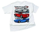 C4 Corvette 1984-1996 Excited As Ever T-Shirt