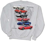 C2 C3 C4 C5 C6 C7 Corvette 1963-2014+ Nothing But Corvette Sweatshirt