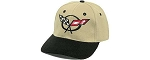 C5 Corvette 1997-2004  Logo Only Cap - Black or Khaki/Black