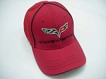 2005-2013 C6 Corvette Flex-Fit Hat w/ C6 Corvette Logo - 3 Colors Available