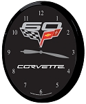 2005-2013 C6 Corvette 60th Anniversary and Centennial Clocks - 14in