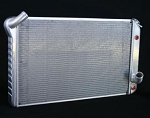 C3 Corvette 1973-1976 Direct Fit Aluminum Radiator - Automatic Trans - 27.5in Core Width
