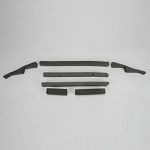 C3 Corvette 1978 Seven Piece Radiator Seal Kit - L82