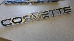 C4 Corvette 1984-1990 Rear Bumper Emblem- Black