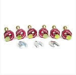 C5 C6 Corvette 1997-2013 Anodized Adjustable Camber Kit w/ Optional Upper Control Arm Stud Kit - Red