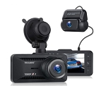 1080P Dual HD Dash Cam w/ 170 Degree Wide Angle