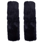 Simulated Sheepskin Seat Belt Shoulder Pads - Sold as a Pair - 3 Color Options