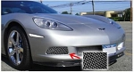 C6 Corvette Base 2005-2013 Affordable Fog Light Screens - Pair