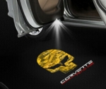 C7 Corvette 2014-2019 Corvette Racing Logo Door Projector