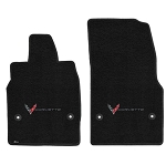 C8 Next Gen Corvette 2020+ Lloyds Berber 2 Floor Mats - Coupe