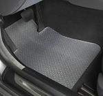 C8 Next Gen 2020+ Corvette Lloyds Clear Protector Floor Mats- 2pc Fronts