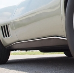 C3 Corvette 1968-1982 Fiberglass Rocker Panel - Side Option