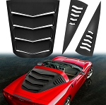 C6 Corvette Coupe Z06/ZR1/Grand Sport 2005-2013 Rear and Side Window Louvers