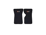 C3 Corvette 1969-1982 Cutpile Floor Mats with Embroidered Emblems