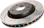 C6 Corvette 2005-2012 DBA Z06/Grand Sport Rear T3 4000 Series Uni-Directional Slotted Rotor