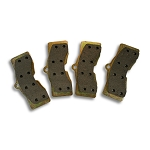 C3 Corvette 1968-1982 Semi Metallic Brake Pads Set