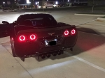 C6 Corvette 2005-2013 Halo LED Tail Lights