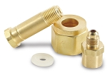 DEI CryO2 Tank Nut & Nipple to Male 4AN Assembly