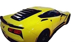 C7 Corvette 2014+ MRT Aluminum Rear Window Louvers