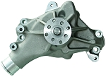 C3 Corvette 1968-1982 Proform Small Block High Flow Mechanical Water Pump - Satin Aluminum - Long