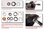 C4 Corvette 1984-1995 Reproduction Upgraded Upper Steering Column Bearing Kit