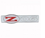 C5 Corvette 2001-2004 Premium UV Coated 2000 Style Z06 Emblem - Color & Size Options
