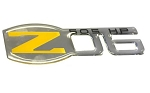 C5 Corvette 2001-2004 Domed Z06 Emblem - 2001-2004 Style - Color & Size Options