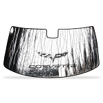 C6 Corvette 2005-2013 Sunshade with Logo